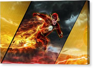 The Flash Collection Canvas Print by Marvin Blaine