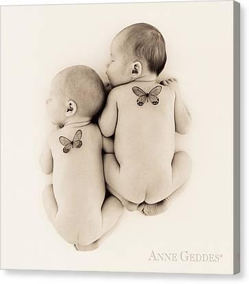 Untitled Canvas Print by Anne Geddes