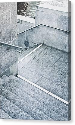Stone Steps Canvas Print by Tom Gowanlock