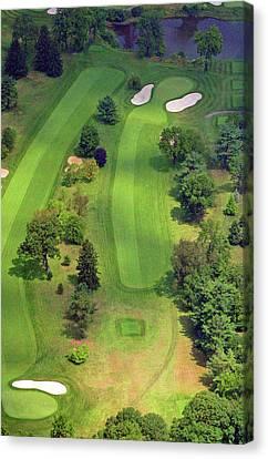 4th Hole Sunnybrook Golf Club 398 Stenton Avenue Plymouth Meeting Pa 19462 1243 Canvas Print by Duncan Pearson
