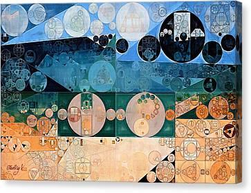 Abstract Painting - Pancho Canvas Print by Vitaliy Gladkiy