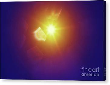 Abstract Sunlight Canvas Print by Atiketta Sangasaeng