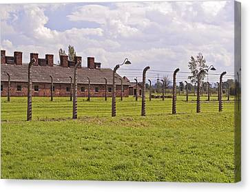 Auschwitz Birkenau Concentration Camp. Canvas Print by Fernando Barozza