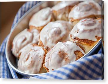 Cinnamon Buns Canvas Print by Erin Cadigan