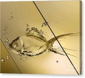 Fish Collection Canvas Print by Marvin Blaine