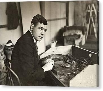 George H. Ruth (1895-1948) Canvas Print by Granger
