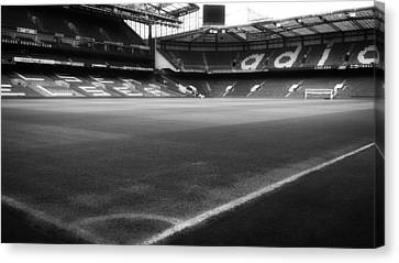 Home Of The Chelsea Football Club Canvas Print by Mountain Dreams
