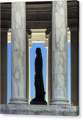 Jefferson Memorial Canvas Print by John Greim