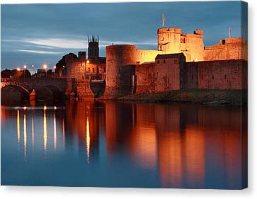 King John's Castle Limerick Ireland Canvas Print by Pierre Leclerc Photography