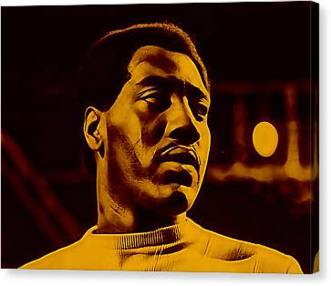 Otis Redding Collection Canvas Print by Marvin Blaine