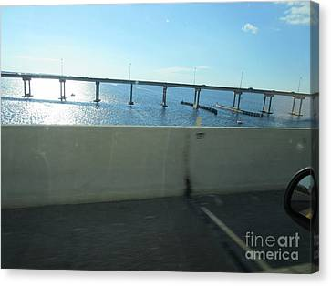 Peace River Bridge Canvas Print by Frederick Holiday