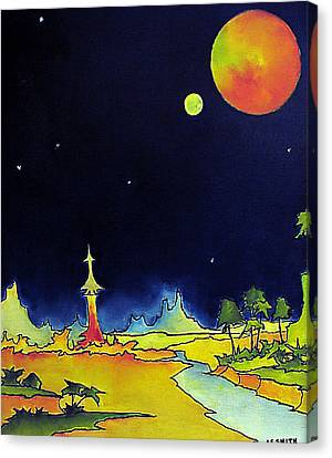 Planet X Canvas Print by James Smith