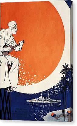 Vintage Hawaiian Art Canvas Print by Hawaiian Legacy Archive - Printscapes