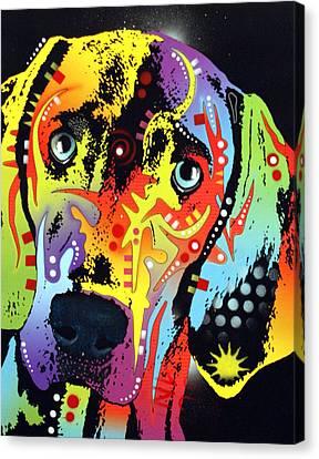Weimaraner Canvas Print by Dean Russo