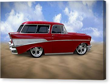 57 Belair Nomad Canvas Print by Mike McGlothlen