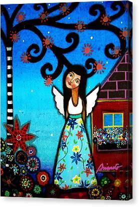 Angel Canvas Print by Pristine Cartera Turkus