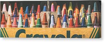 64 Colors Canvas Print by Scott Norris