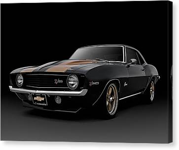 '69 Camaro Z28 Canvas Print by Douglas Pittman