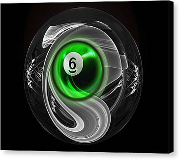6fractuled Canvas Print by Draw Shots