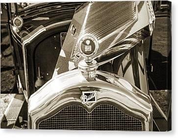 1924 Buick Duchess Antique Vintage Photograph Fine Art Prints 108 Canvas Print by M K  Miller