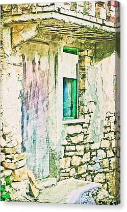 Derelict House Canvas Print by Tom Gowanlock