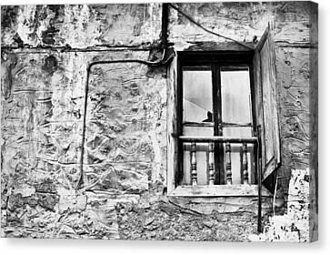 Old Window Canvas Print by Tom Gowanlock