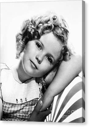 Shirley Temple (1928-  ) Canvas Print by Granger