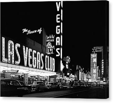 The Las Vegas Strip Canvas Print by Underwood Archives