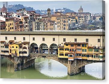 Vecchio Bridge Canvas Print by Andre Goncalves