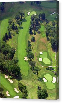 7th Hole Sunnybrook Golf Club 398 Stenton Avenue Plymouth Meeting Pa 19462 1243 Canvas Print by Duncan Pearson