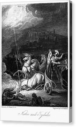 Homer: The Iliad Canvas Print by Granger