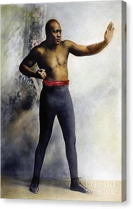 Jack Johnson (1878-1946) Canvas Print by Granger