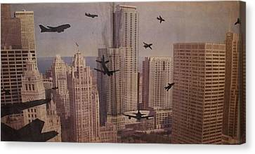 9-11-50 Canvas Print by William Douglas