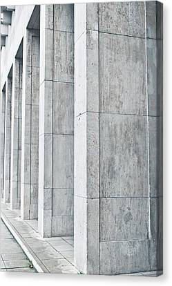 Pillars Canvas Print by Tom Gowanlock