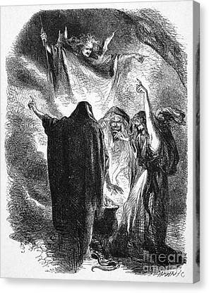 Shakespeare: Macbeth Canvas Print by Granger
