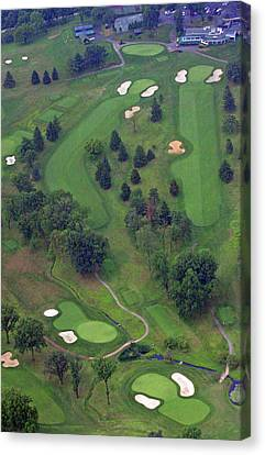 9th Hole Sunnybrook Golf Club 398 Stenton Avenue Plymouth Meeting Pa 19462 1243 Canvas Print by Duncan Pearson