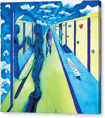 9th Step Canvas Print by Lucinda Blackstone