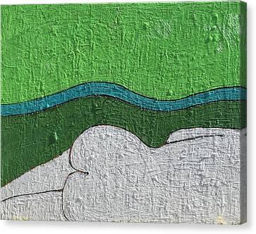 A 345 Canvas Print by Radoslaw Zipper