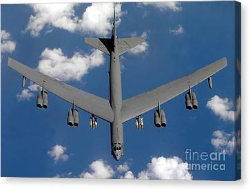 A B-52 Stratofortress Canvas Print by Stocktrek Images