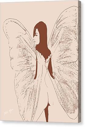 A Backward Look Canvas Print by Tray Mead