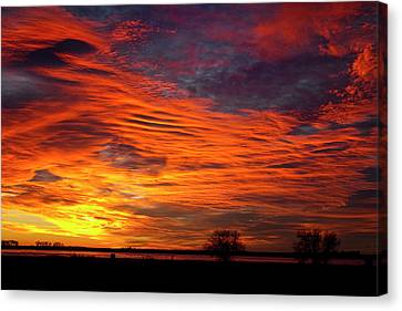 A Beautiful Valentines Sunrise Image Photo Canvas Print by James BO  Insogna