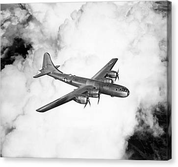 A Boeing B-29 Superfortress, Circa 1944 Canvas Print by Everett