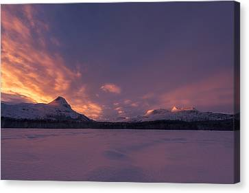 A Breath Of Change Canvas Print by Tor-Ivar Naess