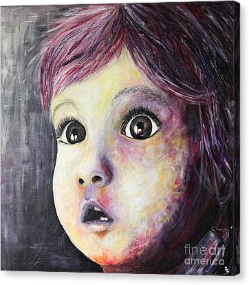 A Child Canvas Print by Home Art