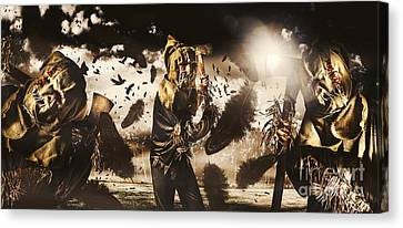 A Crow Left Of The Murder Canvas Print by Jorgo Photography - Wall Art Gallery