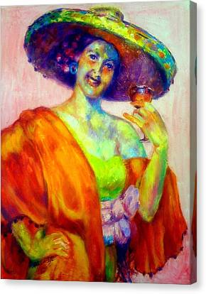 A Festive Spirit Canvas Print by Patricia Lyle