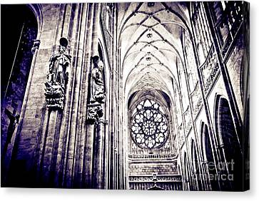 A Gothic Church Canvas Print by Madeline Ellis