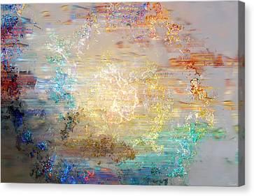 A Heart So Big - Custom Version 3 - Abstract Art Canvas Print by Jaison Cianelli