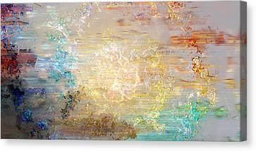 A Heart So Big - Custom Version 4 - Abstract Art Canvas Print by Jaison Cianelli