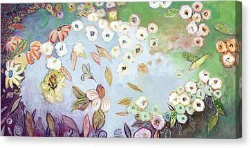 A Hidden Lagoon Canvas Print by Jennifer Lommers